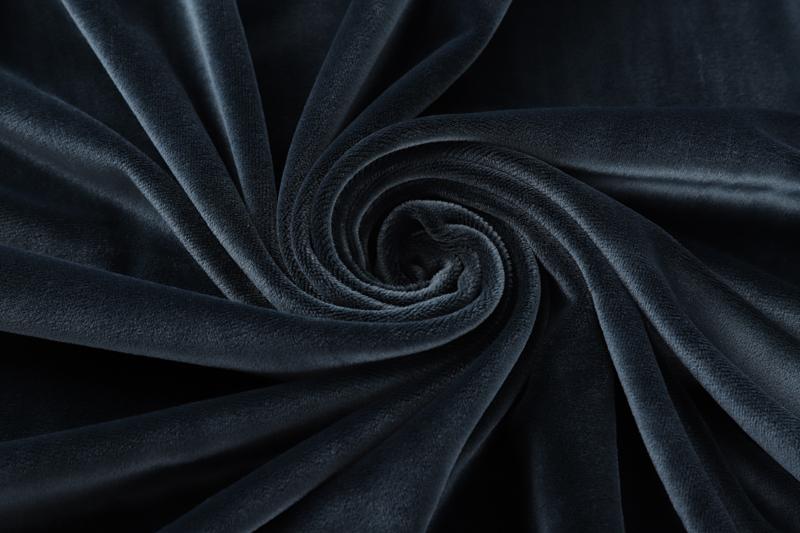 Одна сторона - темно-синяя ткань Супер мягкий