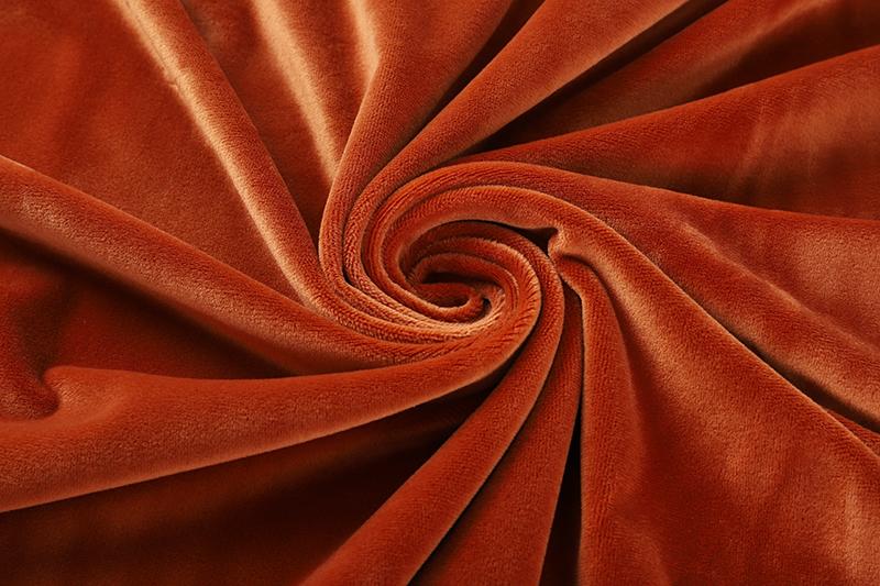 Односторонняя - желто-коричневая ткань Супер мягкий