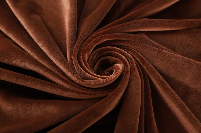Одна сторона - кофе Супер мягкий ткань