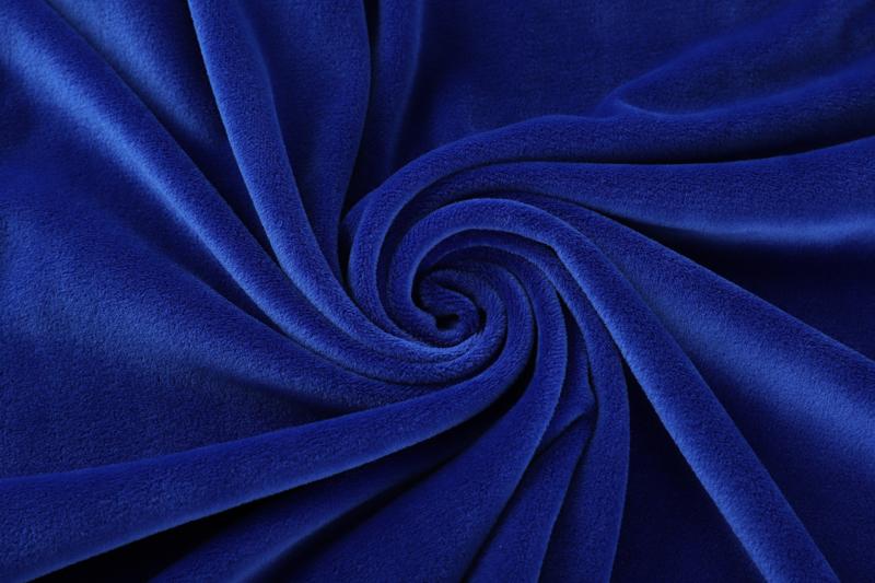 Двухсторонняя ткань Royal Супер мягкий синего цвета