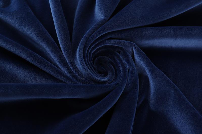 Двусторонняя - темно-синяя ткань Супер мягкий
