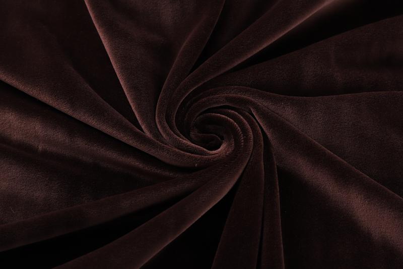 Двухсторонний темный кофе Супер мягкий ткань