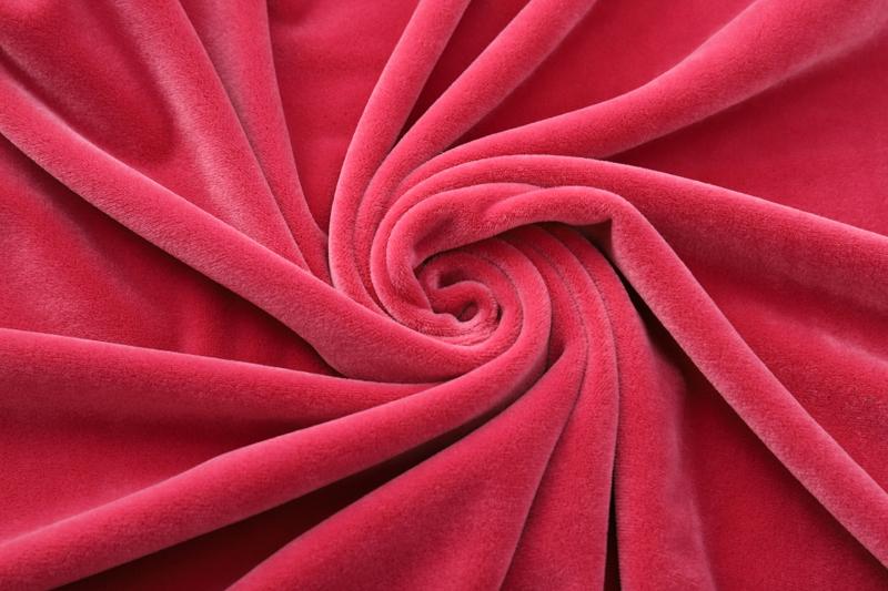 Двусторонняя роза красная ткань Супер мягкий