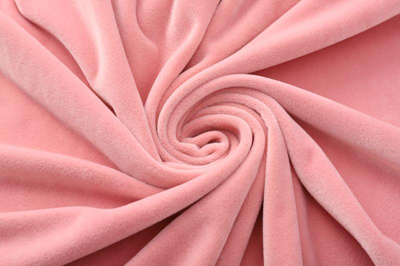 Двусторонняя - светло-розовая ткань Супер мягкий