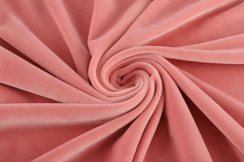 Односторонняя сторона - светло-розовая ткань Супер мягкий