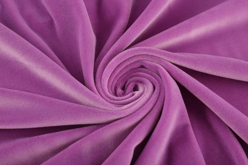 Односторонняя сторона - светло-фиолетовая ткань Супер мягкий