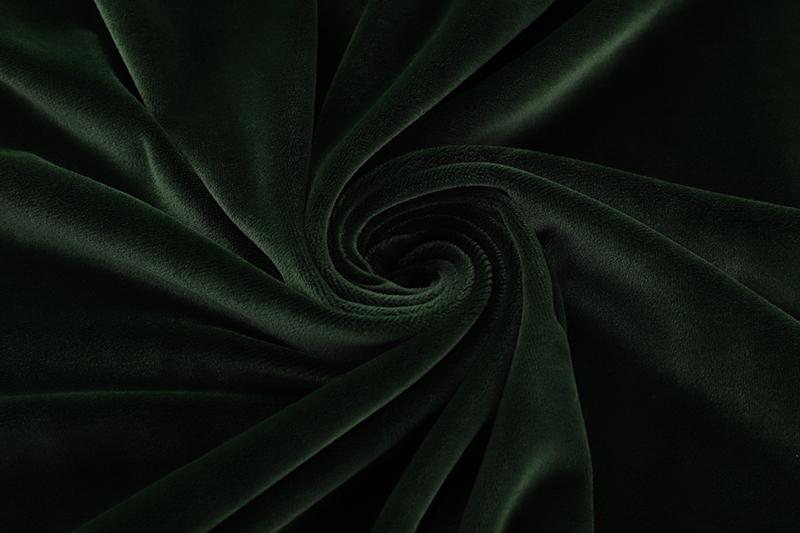 Одна сторона - темно-зеленая ткань Супер мягкий