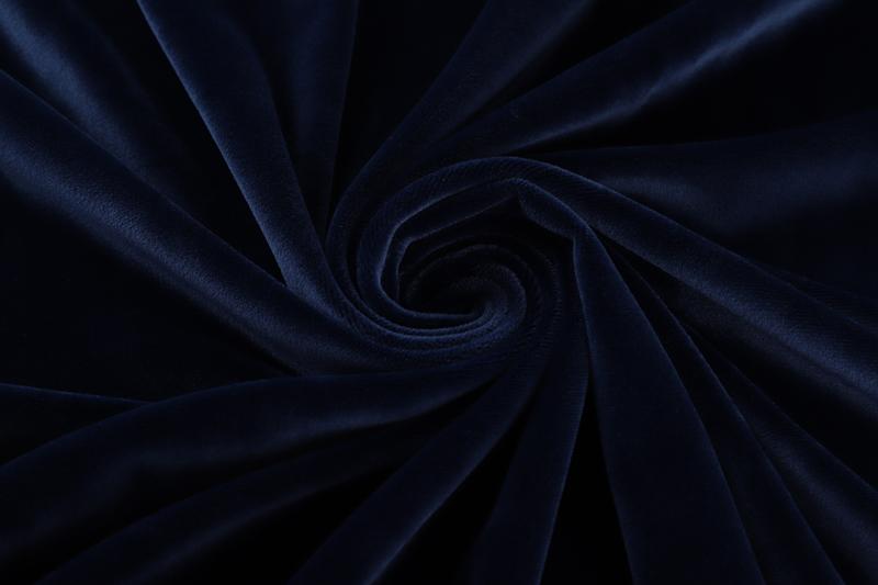 Односторонняя ткань - темно-синий Супер мягкий